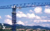 Photo de grue à tour