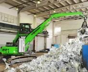Pelle de manutention - Pelle industrielle