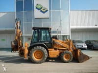 Backhoe loader picture
