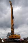 La excavadora de demolición