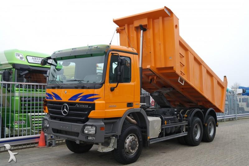 Vrachtwagen kipper 3454 advertenties voor tweedehands for Vrachtwagen kipper met kraan